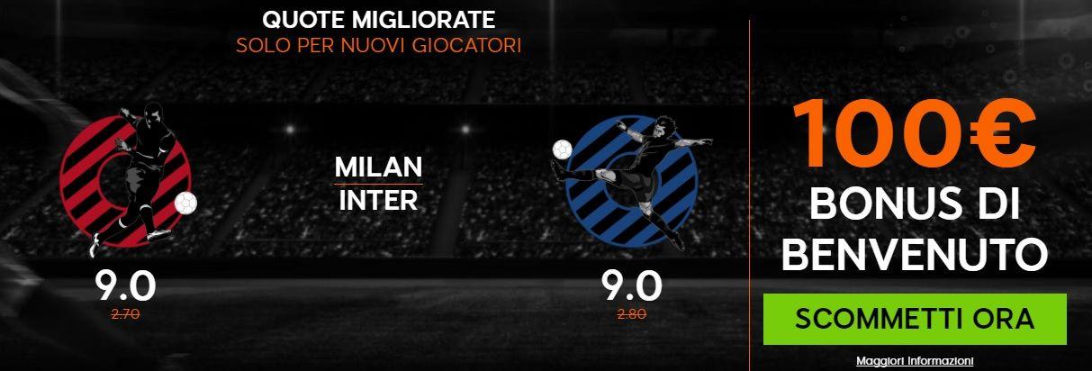 Promo di 888Sport per la partita Milan Inter !